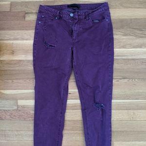 Tinsel Denim Couture Pants
